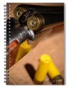Double Barrel Shotgun Spiral Notebook
