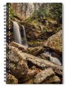 Double Cascade Spiral Notebook