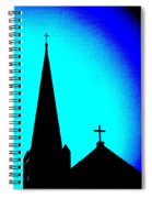 Double Crosses Spiral Notebook
