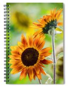 Double Dose Of Sunshine Spiral Notebook