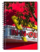 Double Double With Cheese Animal Style Yum Spiral Notebook