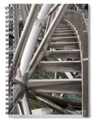 Double Helix Bridge 03 Spiral Notebook