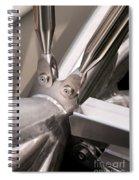 Double Helix Bridge 05 Spiral Notebook