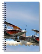 Double Iron Eagles Spiral Notebook