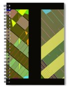 Double Pattens Spiral Notebook
