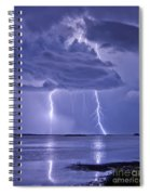 Double Reflection Spiral Notebook