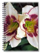 Double The Bloom Spiral Notebook