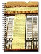 Double Window Work Spiral Notebook