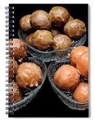 Dough Nut Holes Spiral Notebook