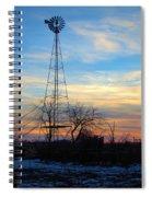 Dougherty Windmill Spiral Notebook