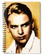Douglas Fairbanks Jr Spiral Notebook