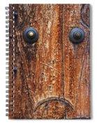 Dour Door Denizen Spiral Notebook