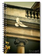 Dove In Flight Spiral Notebook