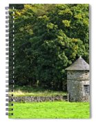 Dovecote At Swainsley Near Warslow Spiral Notebook