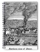 Dover, New Jersey, 1844 Spiral Notebook