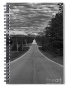 Down A Country Road Spiral Notebook