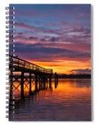 Down At The Dock Spiral Notebook