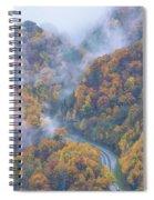 Down Below Spiral Notebook