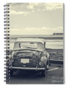 Down By The Shore Spiral Notebook