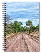 Down Chisolm Island Road Spiral Notebook