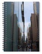Down E 43rd Street N Y C Spiral Notebook