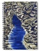 Down Flow Spiral Notebook
