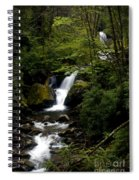 Down From The Hills Spiral Notebook