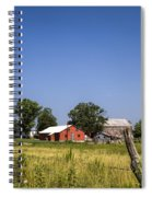 Down Home Amish Farm Spiral Notebook