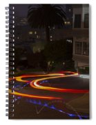 Down Lombard Spiral Notebook