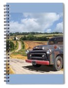Down On The Farm - International Harvester S-100 Spiral Notebook