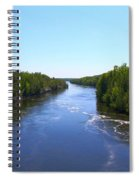 Down River Spiral Notebook