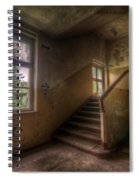 Down Stairs Spiral Notebook