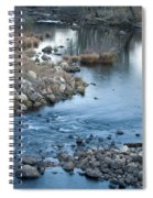 Down Stream Spiral Notebook