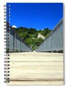 Down The Bridge Spiral Notebook