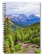 Down The Hill Spiral Notebook