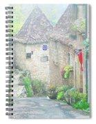 Down The Lane In St Cirq Lapopie Spiral Notebook
