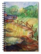 Down The Road A Piece Spiral Notebook