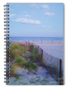 Down The Shore At Belmar Nj Spiral Notebook
