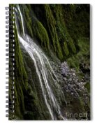 Down The Wall Spiral Notebook