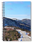 Down To The Sea - Oceanview - Hillview Spiral Notebook