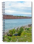 Downbound At Mission Point 3 Spiral Notebook
