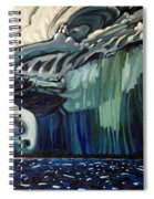 Downburst Spiral Notebook