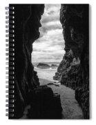 Downhill Cave Spiral Notebook