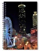 Downtown Atlanta Spiral Notebook
