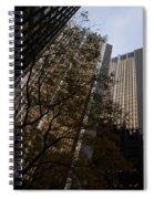 Downtown Autumn Spiral Notebook