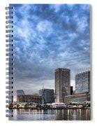 Downtown Baltimore Spiral Notebook