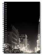 Downtown Dallas 1942 Spiral Notebook