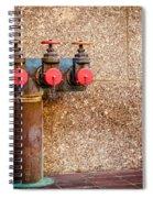 Downtown Extinguisher  Spiral Notebook
