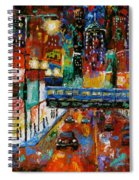Downtown Friday Night Spiral Notebook