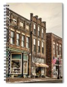 Downtown Jonesborough Spiral Notebook